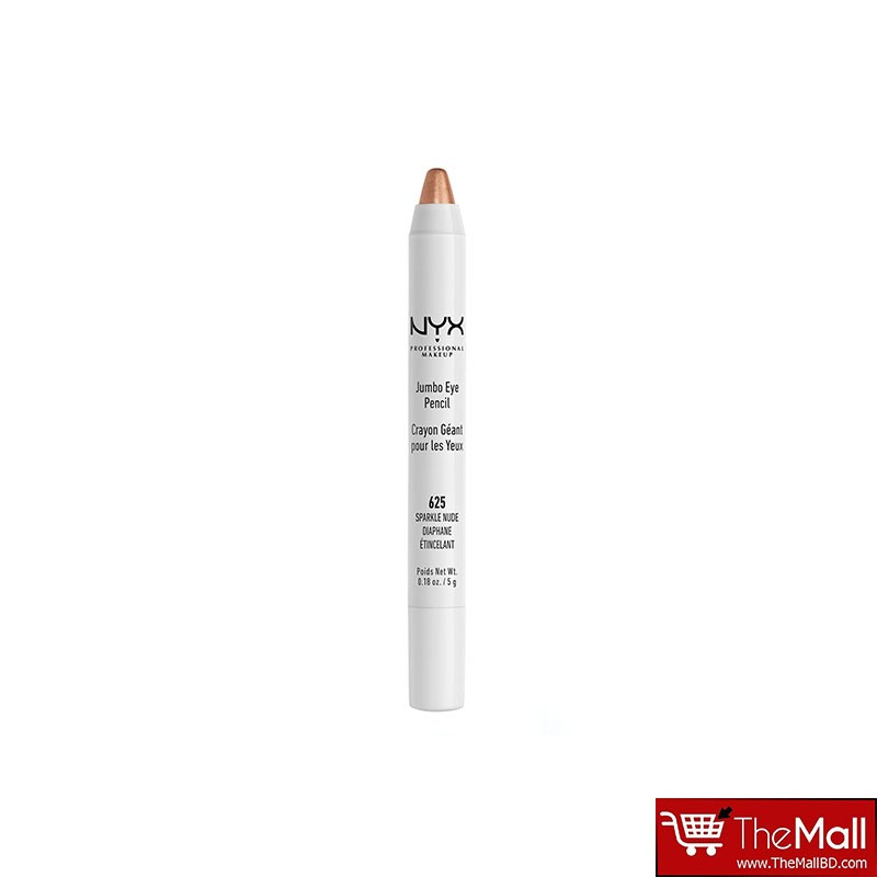NYX Jumbo Eye Pencil 5g - 625 Sparkle Nude