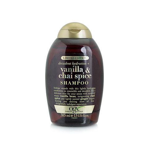 Ogx Decadent Hydration + Vanilla & Chai Spice Shampoo 385ml