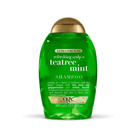 OGX Extra Strength Refreshing Scalp + Tea Tree Mint Shampoo 385ml