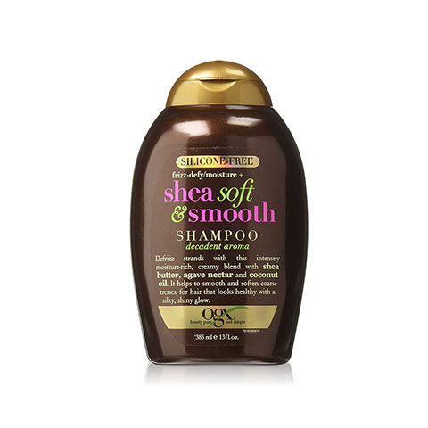 OGX Frizz-Defy/Moisture + Shea Soft & Smooth Shampoo 385ml