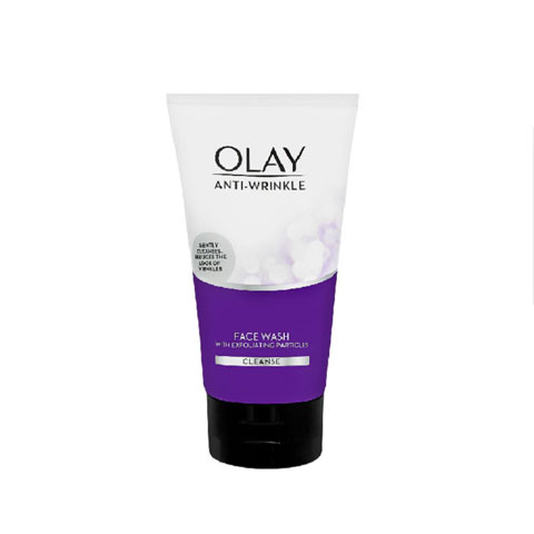 Olay Anti Wrinkle Face Wash With Exfoliating Particles 150ml
