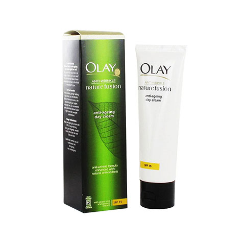 Olay Anti-Wrinkle Nature Fusion Anti-Ageing Day Cream 50ml - SPF15