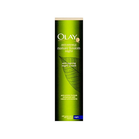 Olay Anti-Wrinkle Nature Fusion Anti-Ageing Night Cream 50ml