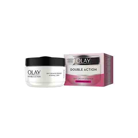Olay Double Action Day Cream & Primer (Normal/Dry) - 50ml