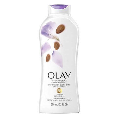 Olay Hydrating Clean Almond Milk Body Wash 650ml