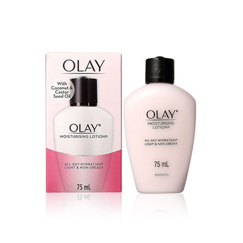 Olay Moisturising Lotion With Coconut & Castor Seed Oil 75ml