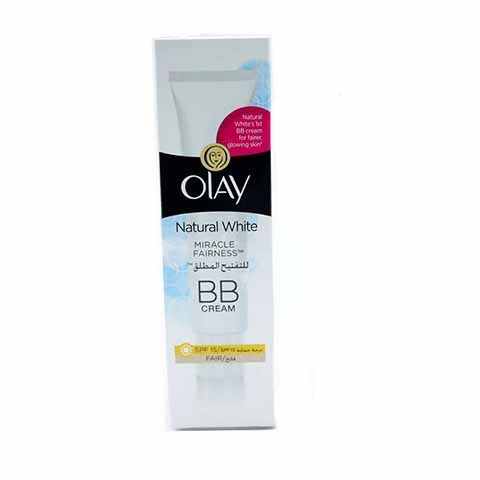 Olay Natural White Miracle Fairness Spf 15 BB Cream 50ml - Fair