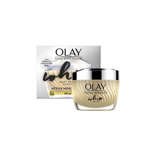 Olay Total Effects Whip Light As Air Touch Active Moisturiser 50ml - SPF30