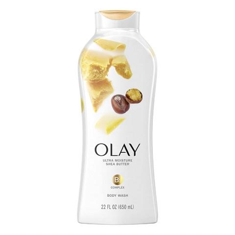 Olay Ultra Moisture Shea Butter Body Wash 650ml
