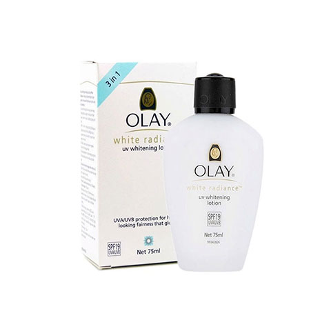 Olay White Radiance UV 3 in 1 Whitening Lotion 75ml - Spf19