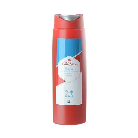 Old Spice Cooling 2 in 1 Shower Gel + Shampoo 250ml