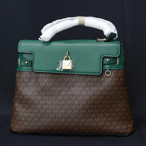 One Sided Shoulder Ladies Handbag (329) - Green