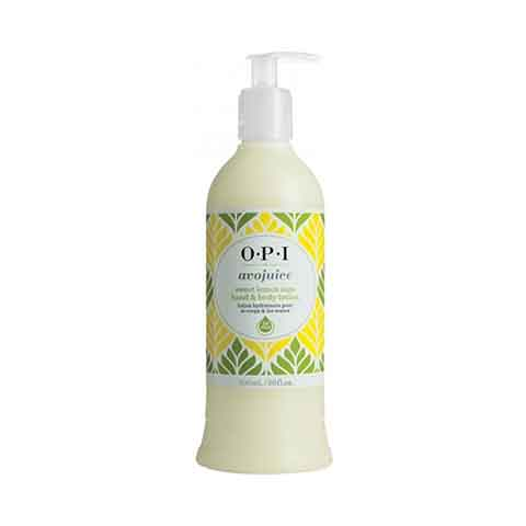 O.P.I Avojuice Sweet Lemon Sage Hand & Body Lotion 600ml