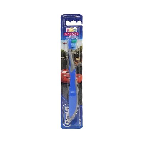 Oral-B Kids Soft Toothbrush 3-5 years - Blue & Grey