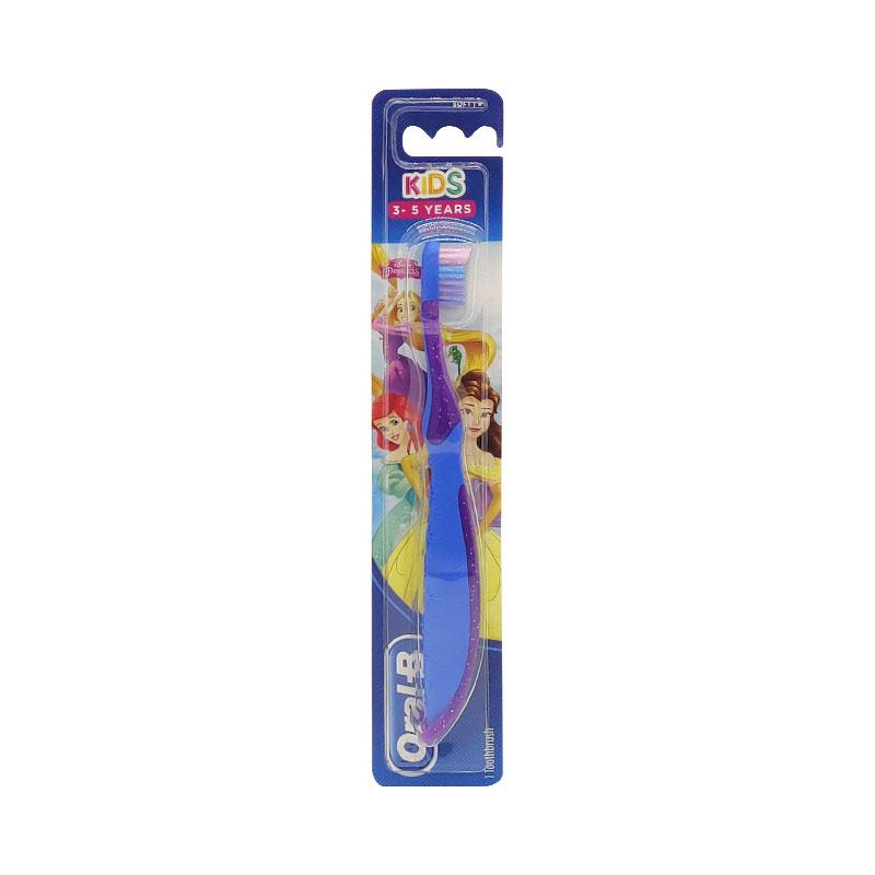 Oral-B Kids Soft Toothbrush 3-5 years - Blue & Purple