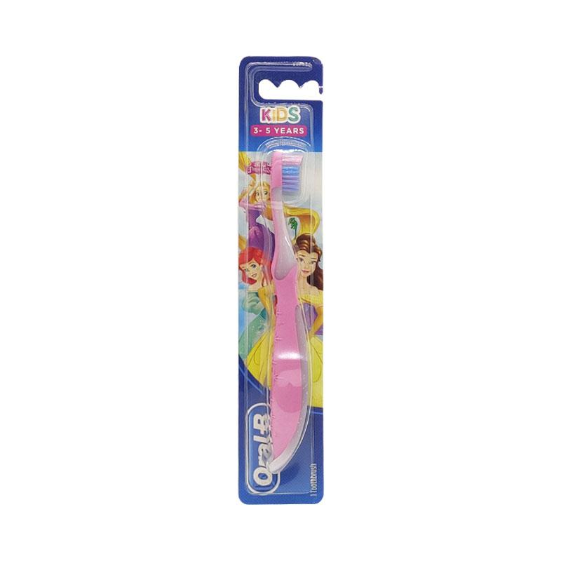 Oral-B Kids Soft Toothbrush 3-5 years - Pink & White