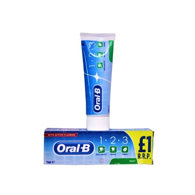 Oral B Mint With Active Fluoride Toothpaste 75ml