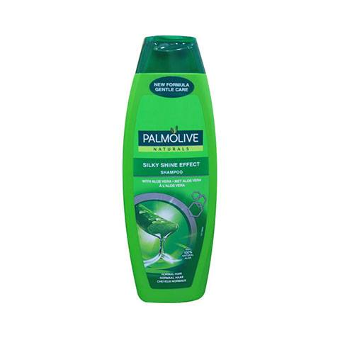 Palmolive Natural Silky Shine Effect Shampoo With Aloe Vera 350ml