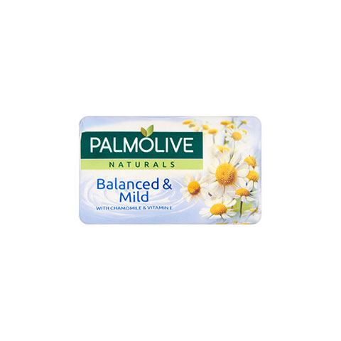 Palmolive Naturals Balanced & Mild With Chamomile & Vitamin E Soap 90g
