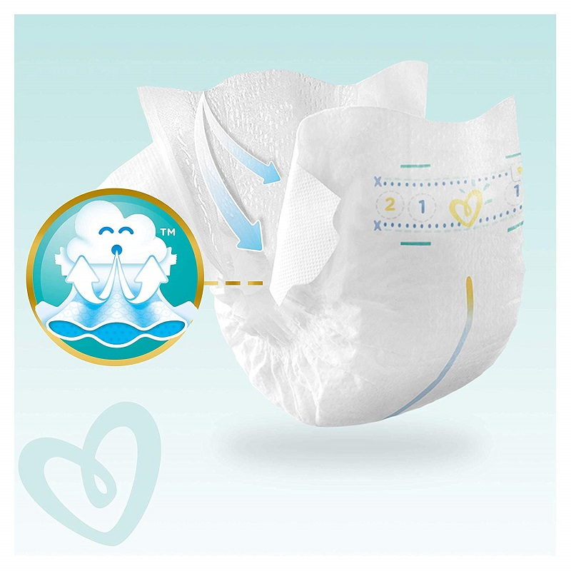 Pampers Baby Dry Nappy Pants Up To 12h 4 (9-15 kg) UK 74 Nappies