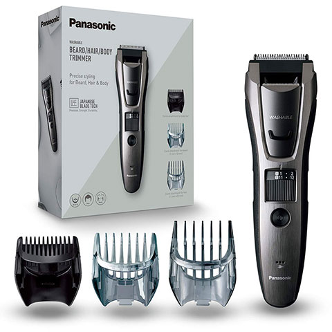Panasonic Washable Beard, Hair And Body Trimmer - ER-GB80