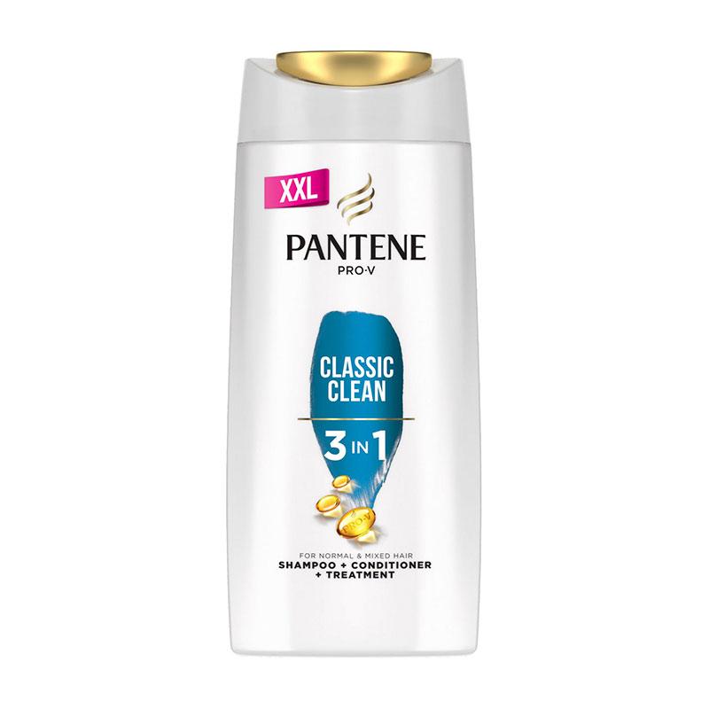 Pantene Pro-V Classic Clean 3 in 1 Shampoo + Conditioner + Treatment 700ml