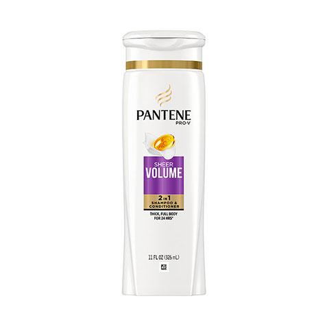 Pantene Pro-V Sheer Volume 2 in 1 Shampoo & Conditioner 375ml