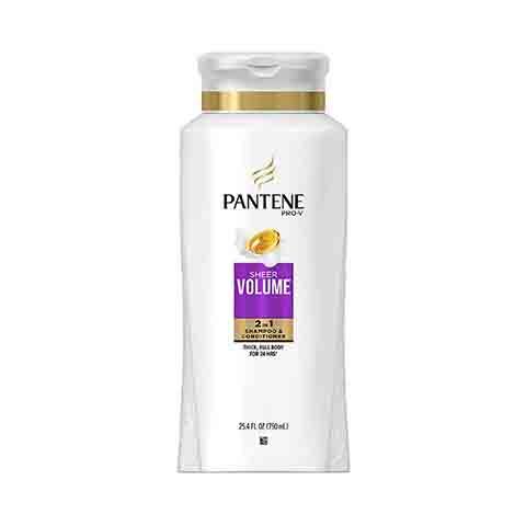Pantene Pro-V Sheer Volume 2 in 1 Shampoo & Conditioner 750ml
