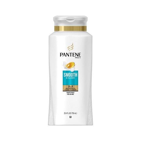 Pantene Pro-V Smooth & Sleek 2 in 1 Shampoo & Conditioner 750ml