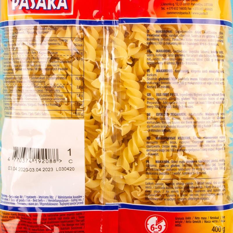 Pasaka Macaroni Pasta 400g (1)