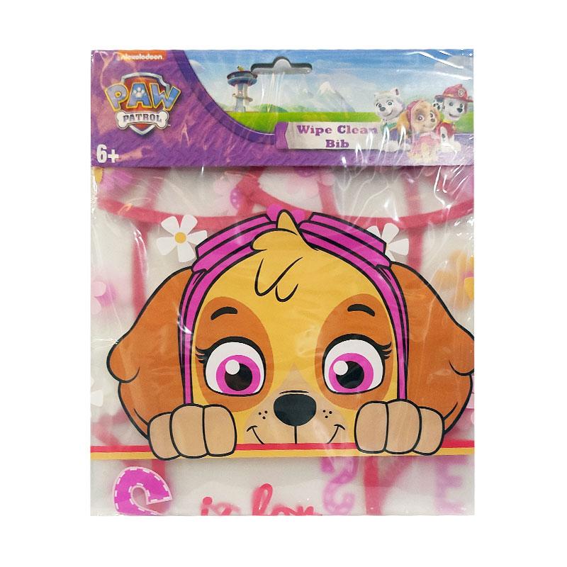 Paw Patrol Wipe Clean Baby Bib 6+ - Skye