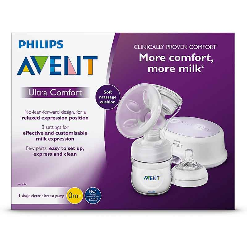 Philips Avent Ultra Comfort Single Electric Breast Pump 0m+