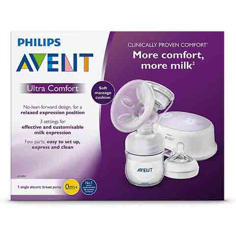 Philips Avent Ultra Comfort Single Electric Breast Pump 0m+