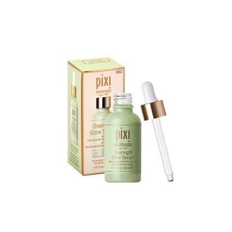 Pixi Skintreats Overnight Glow Serum With 10% Glycolic Acid & Aloe Vera 30ml