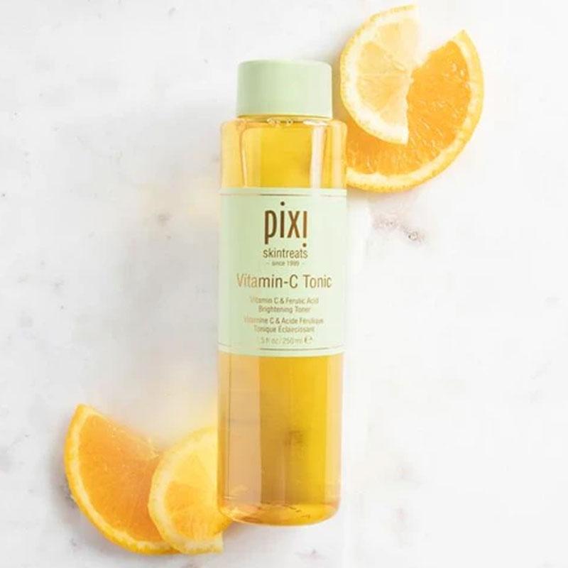 Pixi Skintreats Vitamin C Tonic Facial Brightening Toner 250ml