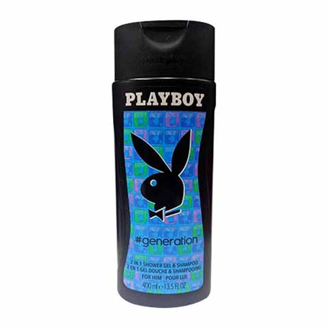 Playboy Generation 2 in 1 Shower Gel & Shampoo 400ml