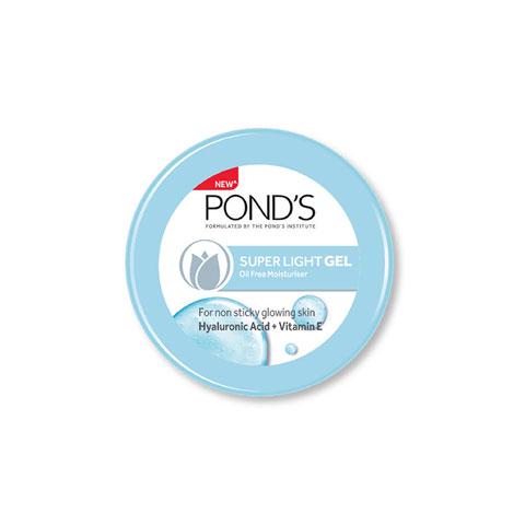 Pond's Super Light Gel Oil Free Moisturiser With Hyaluronic Acid + Vitamin E 73g