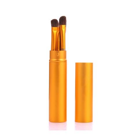 Pony Hair 5pcs Makeup Brushes Set - Golden (20113)