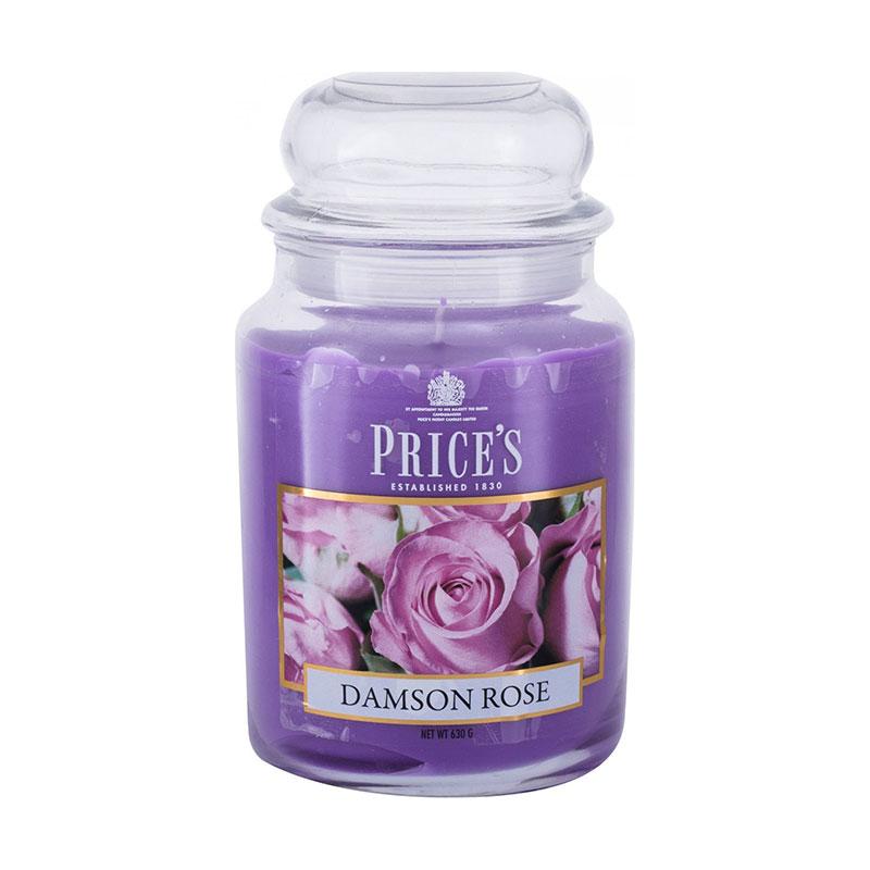 Price's Jar Candle 630g  - Damson Rose