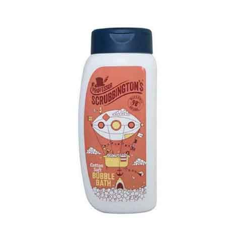 Professor Scrubbington's Cotton Soft Bubble Bath 300ml