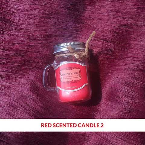 Red Scented Candle 2