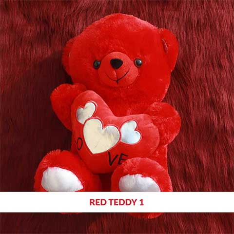 Red Teddy 1