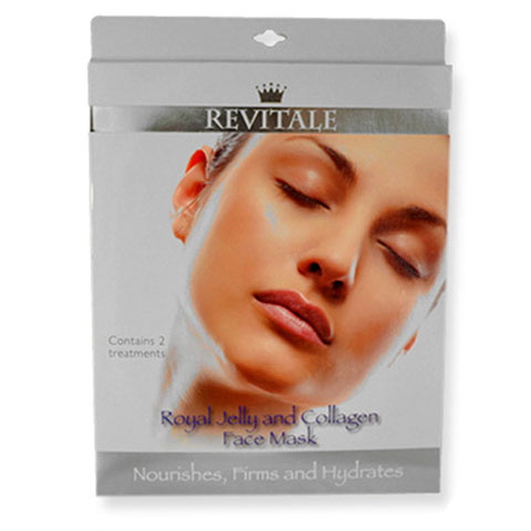 Revitale Royal Jelly & Collagen Face Mask 2pcs
