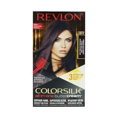 Revlon Colorsilk All-In-One Buttercream Hair Colour - 28DV Lively Violet Black
