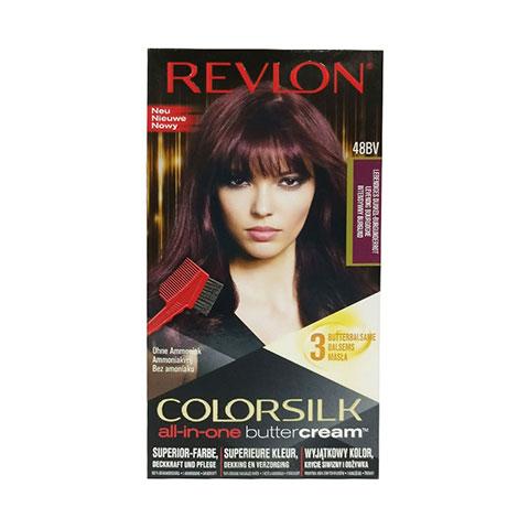 Revlon Colorsilk All-In-One Buttercream Hair Colour - 48BV Burgundy