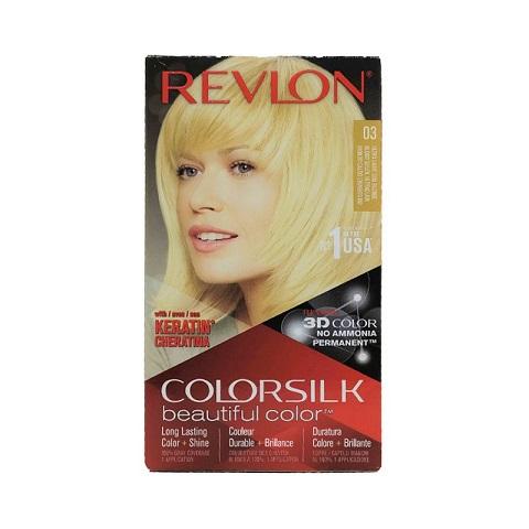 Revlon Colorsilk Beautiful 3D Hair Color - 03 Ultra Light Sun Blonde