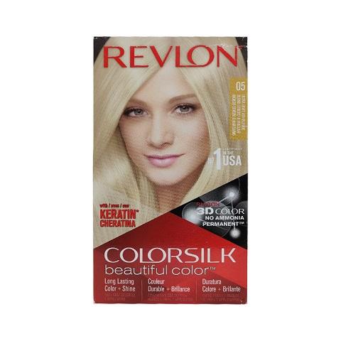 Revlon ColorSilk Beautiful 3D Hair Color - 05 Ultra Light Ash Blonde