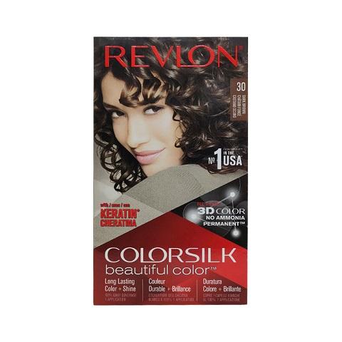 Revlon ColorSilk Beautiful 3D Hair Color - 30 Dark Brown