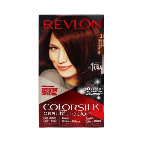 Revlon Colorsilk Beautiful 3D Hair Color - 31 Dark Auburn
