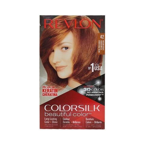 Revlon ColorSilk Beautiful 3D Hair Color - 42 Medium Auburn